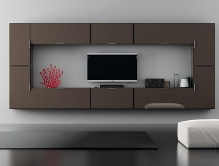 Decoraci n muebles tv modulares muy originales for Muebles tv originales