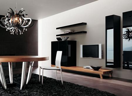 25 muebles tv de dise o minimalista que marcan tendencia for Muebles diseno minimalista