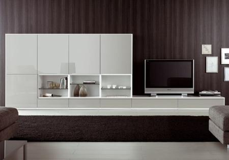 Decoración 25 muebles TV, de diseño minimalista, que marcan tendencia