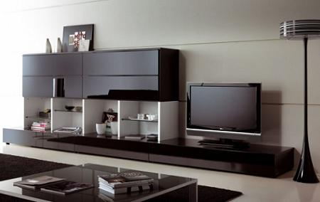 25 muebles tv de dise o minimalista que marcan tendencia for Programa para diseno de muebles
