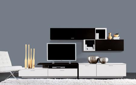 25 muebles tv de dise o minimalista que marcan tendencia - Decoracion mueble tv ...