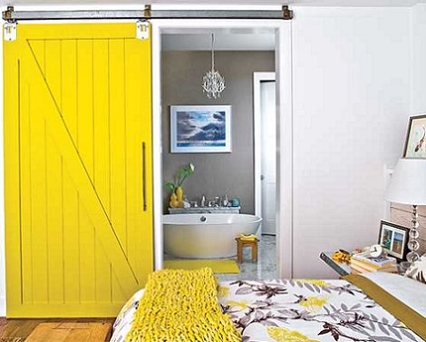 5 puertas correderas para ahorrar espacio decoraci n - Carteles para puertas habitaciones ...