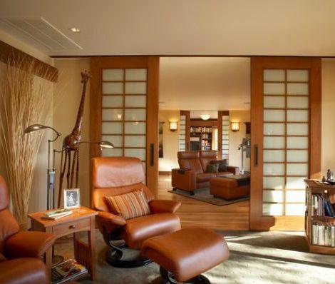 5 puertas correderas para ahorrar espacio decoraci n - Puertas correderas de salon ...