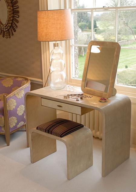 Ideas para crear un tocador en tu dormitorio decoraci n for Sillas para tocador
