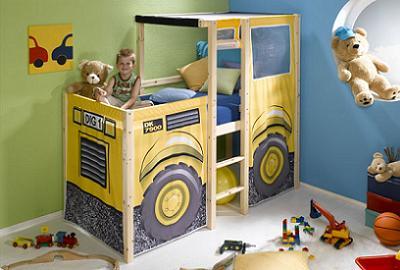 Decoraci n camas muy originales para cuartos infantiles - Camas de ninos originales ...