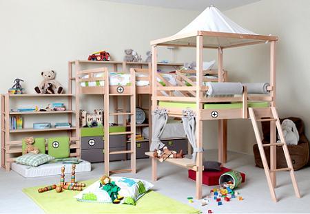 Dormitorio infantil : para niño – Decoración