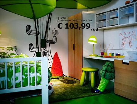 Decoraci n dormitorio infantil para ni o - Ikea dormitorio ninos ...