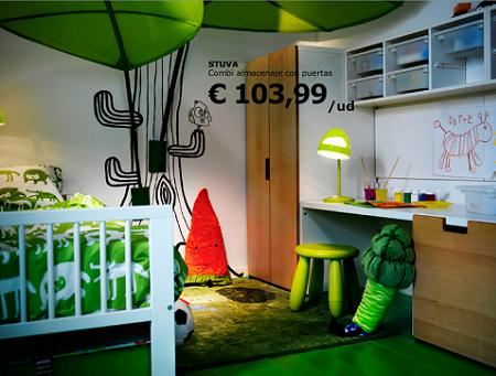 Dormitorio infantil para ni o decoraci n - Dormitorio infantil original ...