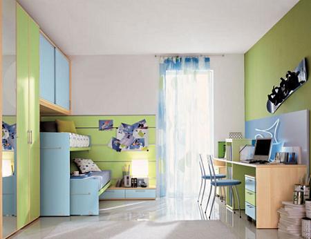 Colores unisex para cuartos infantiles book covers - Dormitorios para ninos ...