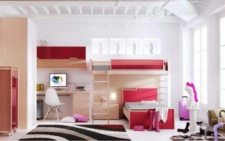 Decoraci n decorar la habitaci n juvenil - Como decorar una habitacion pequena juvenil ...