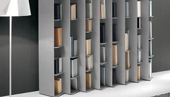 biblioteca estanteria Ledge de Pallucco