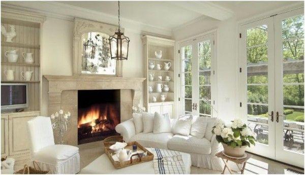 decorar con espejos with decorar salones con chimenea - Decoracion De Salones Con Chimenea