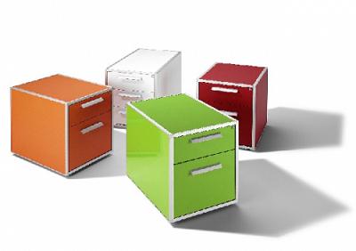 10 muebles auxiliares de oficina cajoneras y armarios con ideas y tendencias para decorar tu - Cajoneras de oficina ...