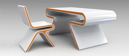 Decoraci n escritorios de dise o originales for Diseno de escritorios en casa