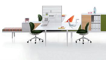 Decoración Mesas de oficina de la firma Vitra