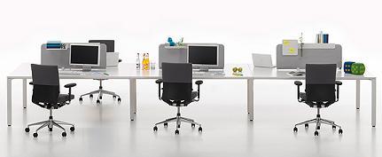 Decoración Sistema de muebles de oficina WorKit de Vitra que se adaptan a tus...