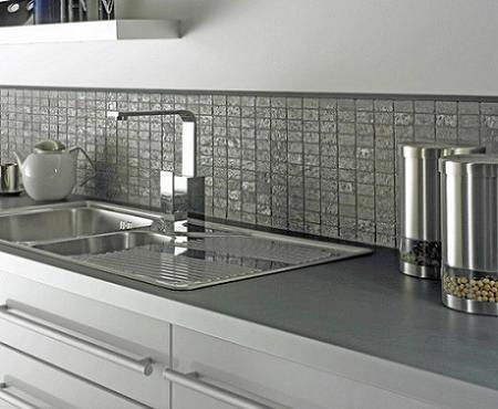 Decoraci n azulejos para la cocina - Paredes de cocina sin azulejos ...