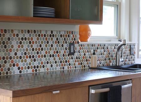 Decoraci n azulejos para la cocina - Cenefas modernas para cocina ...