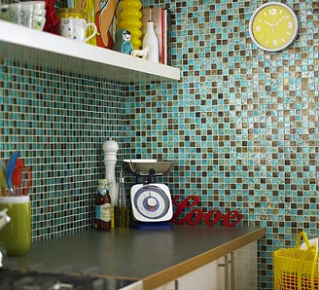 Decoraci n azulejos para la cocina for Que son los azulejos