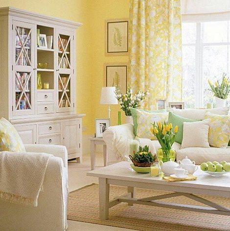 Los colores c lidos ideales para decorar la casa decoraci n - Colores pintar paredes ...