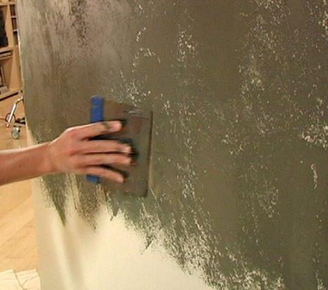 C mo hacer estuco en tus paredes paso a paso - Pintar paredes estucadas ...
