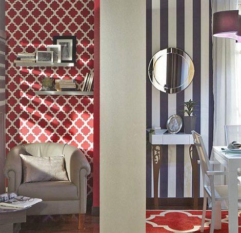 El papel pintado de leroy merl n de calidad y barato for Papel para empapelar paredes precios