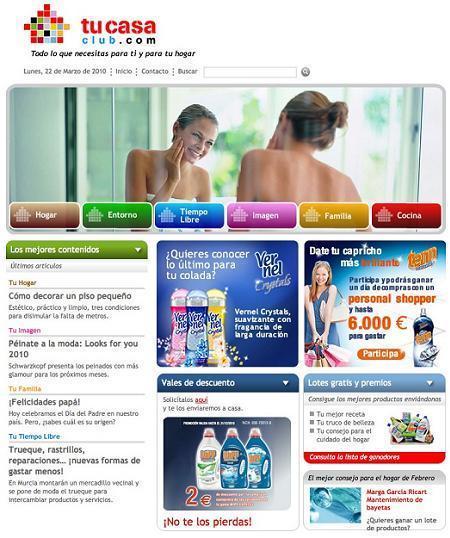 Tucasaclub.com, trucos para ahorrar en tu hogar