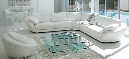 Decoraci n rinconeras y sof s de grandes dimensiones for Sofas grandes de piel