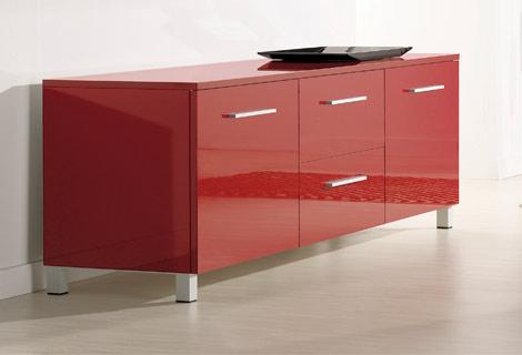Mueble rojo ikea awesome creo que colocaremos el sobre el - Mueble aparador ikea ...