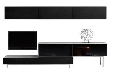 sistemas modulares tv de boconcept decoraci n. Black Bedroom Furniture Sets. Home Design Ideas