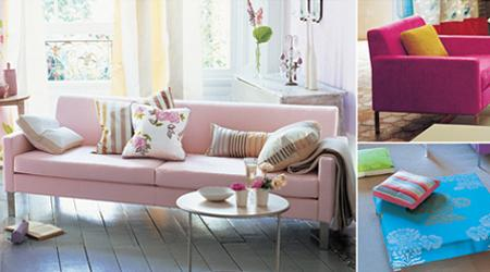 Decoraci n rosa malva y fucsia los colores de esta - Designers guild catalogo ...