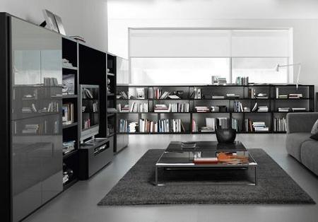Son una buena idea los muebles oscuros para el sal n for Nueva linea muebles