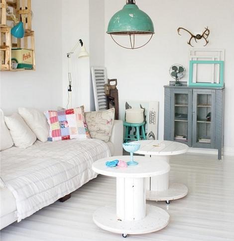 Salón blanco original