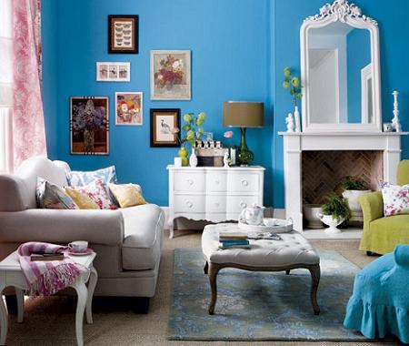 Colores para el sal n decoraci n - Decoracion de salones colores ...