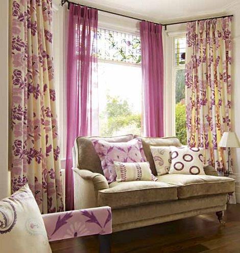 10 consejos pr cticos para elegir las cortinas de tu sal n for Decoracion cortinas salon
