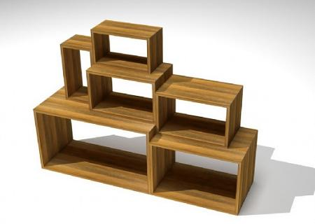 Decoraci n estanter as de madera - Estanterias rusticas de madera ...