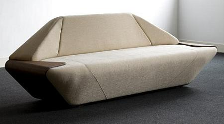 El sofá Hex es un sofá con varias utilidades