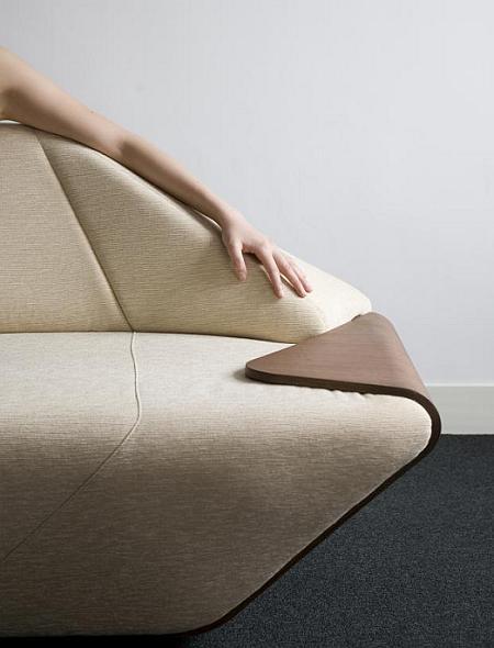 Hex es un sofá muy cómodo