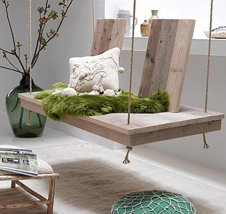 6 salones de estilo r stico moderno decoraci n - Salones modernos con chimenea ...