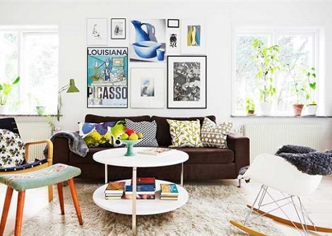 Salones de estilo n rdico decoraci n for Salones con estilo moderno