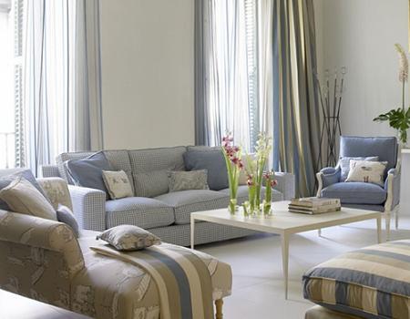El color azul est de moda este verano 2009 decoraci n - Ka international telas ...