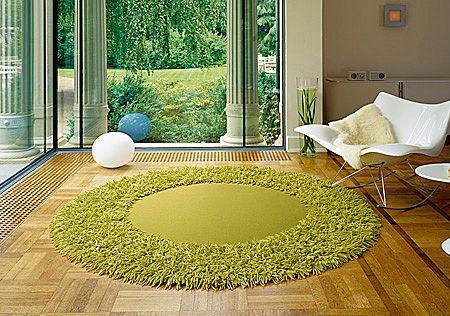 6 alfombras redondas decoraci n for Alfombras redondas ikea