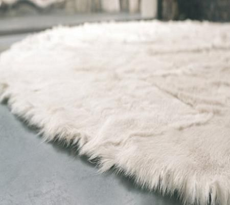 Alfombras de piel decoraci n - Alfombra oveja ...