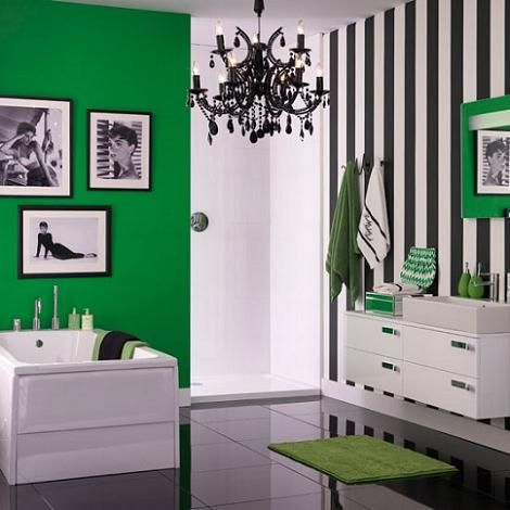 black and white striped wallpaper bedroom ideas