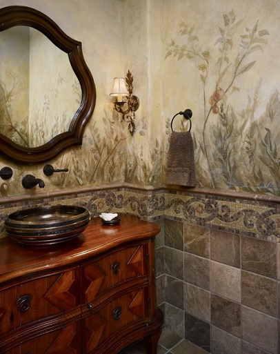 Ideas Para Decorar Un Baño Antiguo:decoracion de baños rusticos