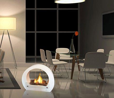 Las soluciones de leroy merl n para calentar tu casa este invierno decoraci n - Estufas de bioalcohol ...