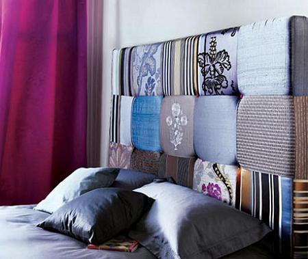 Cabeceros tapizados decoraci n - Forrar cabecero de cama ...
