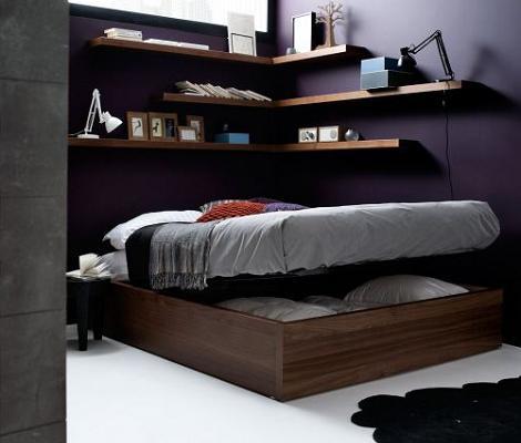 Decoraci n 8 camas de matrimonio modernas for Decoracion camas matrimonio