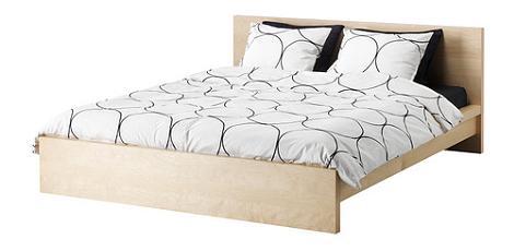 Decoraci n 8 camas de matrimonio modernas - Cama ikea malm ...