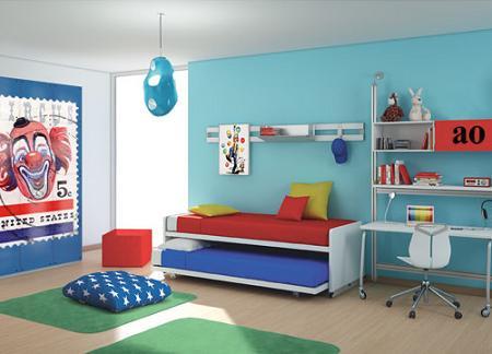 5 camas nido infantiles decoraci n - Camas dobles infantiles para espacios reducidos ...
